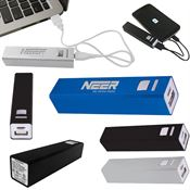 Aluminum Power Bank Emergency Battery Charger - Personalization Available
