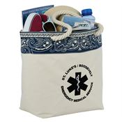 Americana Bandana Cotton Tote - Personalization Available