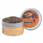 Individual Gourmet Spice Rub Tins - Personalization Available