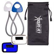 Stride Pedometer & Stretch Band In A Pouch - Personalization Available