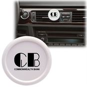 Auto Air Vent Freshener - Round - Personalization Available