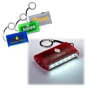 6+2 LED Pocket Lantern/Torch Key Tag - Personalization Available