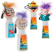 SPF 30 Suntan Lotion & Lip Balm Combo With Goofy ™ Head - Personalization Available