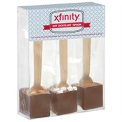 Hot Chocolate On A Spoon 3-Piece Gift Set With Gourmet Flavors - Personalization Available