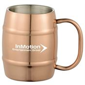 Moscow Mule Barrel Mug 14-oz. - Personalization Available