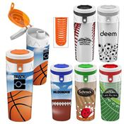 Full Color Infuser Bottle 16-oz. - Personalization Available