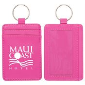 Pink Deluxe ID Holder Wallet - Personalization Available