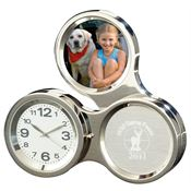 Round About Clock/Frame - Personalization Available
