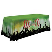 8' Premium Full-Color Table Throw - Personalization Available