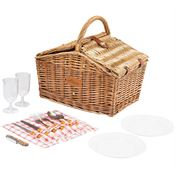 Picnic Time Piccadilly Picnic Basket - Personalization Available