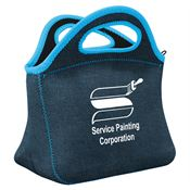Denim Klutch Lunch Bag - Personalization Available