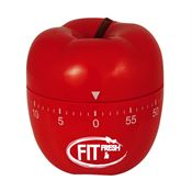 Apple-Shaped Kitchen Timer - Personalization Available
