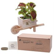 Wooden Wheel Barrow Blossom Kit - Personalization Available
