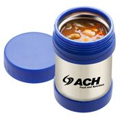 Stainless Steel Food Container 12-oz. - Personalization Available