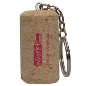 Wine Cork Keytag - Personalization Available