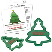 Tree Shaped Cookie Cutter - Personalization Available