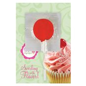 Greeting Card With Lollipop - Personalization Available