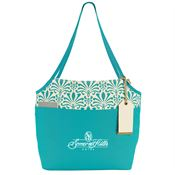 Tori Cotton Fashion Tote - Personalization Available