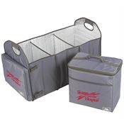 Arctic Zone® Trunk Organizer With 40-Can Cooler - Personalization Available