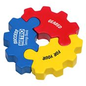 3-Piece Gear Puzzle Set Stress Reliever - Personalization Available