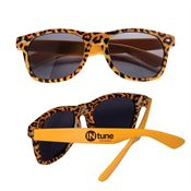 Leopard Print Sunglasses - Personalization Available