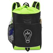 Riptide Drawstring Backpack - Personalization Available