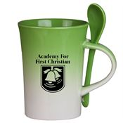 Gradient Spoon Mug 10-oz. - Personalization Available