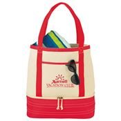 Coastal Cotton Insulated Tote - Personalization Available