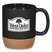 Cork Base Ceramic Mug 14-oz. - Personalization Available