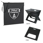 Collapsible Portable Grill With Carrying Bag - Personalization Available
