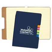 Sticky Flag Journal Notebook - Personalization Available