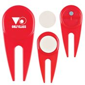 Divot Tool With Ball Marker - Personalization Available