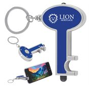 Skeleton Key Tag With LED And Stylus - Personalization Available