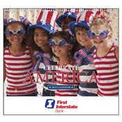 Celebrate America 2019 Calendar - Spiral - Personalization Available