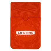 Basketball Print Silicone Smart Wallet - Personalization Available