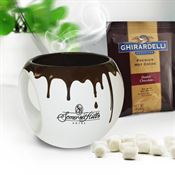Hot Chocolate Mug Set 16-oz. - Personalization Available