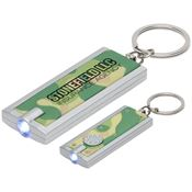 Simple Touch LED Key Chain In Camouflage - Personalization Available