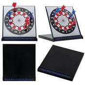 Desktop Magnetic Dartboard - Personalization Available