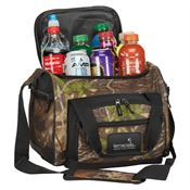 12-Can Convertible Duffel Cooler With Printed Design - Personalization Available