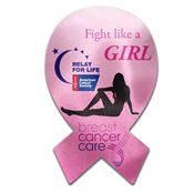 Awareness Ribbon-Shaped Microfiber Cleaning Cloth - Personalization Available