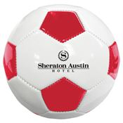 Mini Synthetic Leather Soccer Balls - Personalization Available