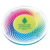 Round Acrylic Coaster - Personalization Available