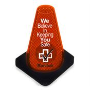 Safety Cone Strobe - Personalization Available