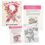 Color For A Cause Breast Cancer Awareness Coloring Book - Personalization Available
