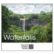 Waterfalls 2018 Calendar - Personalization Available