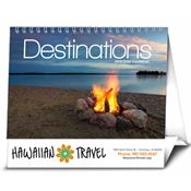 Picture Flip - Destinations 2018 Calendar - Personalization Available