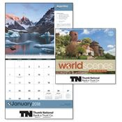 World Scenes With Recipes 2018 Calendar - Personalization Available
