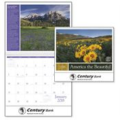 America The Beautiful With Recipes 2018 Calendar - Personalization Available