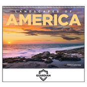 Landscapes Of America 2018 Spiral Calendar - Personalization Available