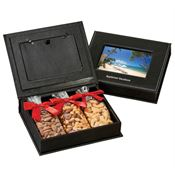 Picture Frame Keepsake Box With Nut Mix - Personalization Available